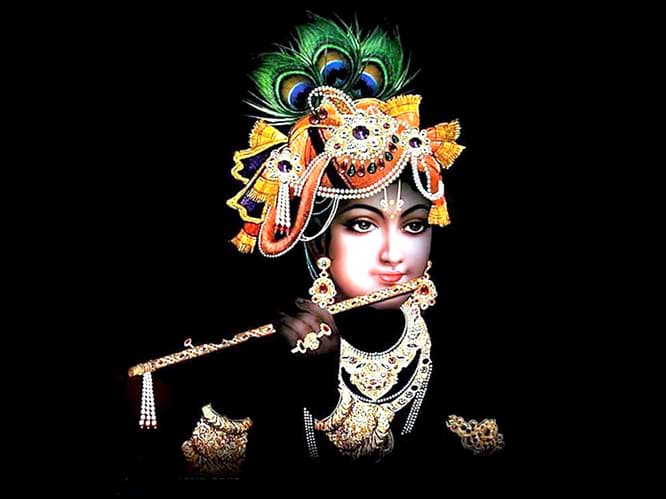 krishna photo - Sanwali Surat pe Mohan Dil Deewana Ho Gaya lyrics