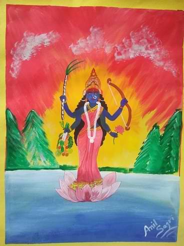 Devi Maa Shakumbhari Ka Dwaar