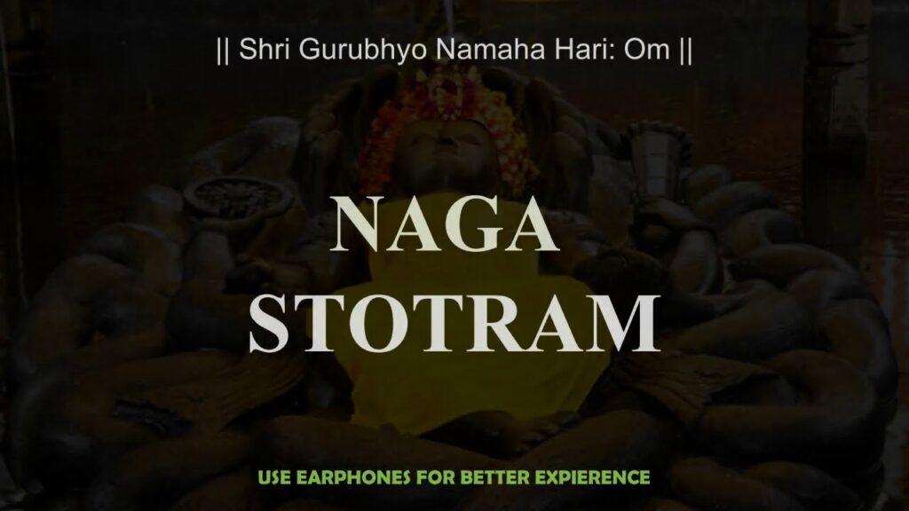 Nag Stotram